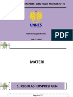 8 Regulasi Gen Prokaryot - Lina