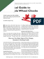 Wheel Chock Selection