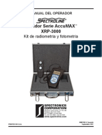 XRP-3000 AccuMAX Manual Spanish AM07005-6_opt