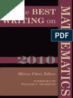 The Best Writing On Mathematics 2010.pdf