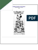Renulife 1919 Manual Text