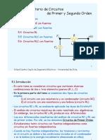 An Lisis Transitorio de Circuitos Primer y Segundo Orden