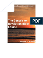 Genesis to Revelation Course
