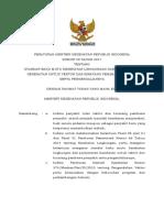 PMK No. 50 Ttg Standar Baku Mutu KESLING Dan Persyaratan Kesehatan Vektor