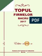 Topul Firmelor din Bacau 2017