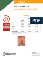 Dosages Béton de Propreté Et Semelles