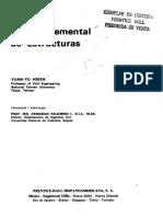Resistencia de Materiales, Teoría de Estructuras; Yuan Yu Hsie