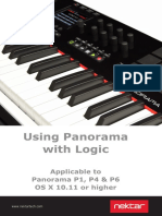 Panorama Logic Installation & User Guide 1.0 OSX 10.11 or Higher