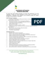 Funciones Coordinador de Proyectos VV