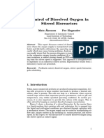 CONTROL OF DISSOLVED OXYGEN IN STIRRED BIOREACTORS