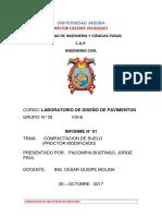 INFORME  DE LAVORATORIO DE PAVIMENTO.docx