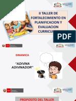 PPT II TALLER para docentes (agosto).pptx