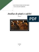 Proiect Analiza de Piata a Cafelei