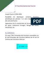 Chapitre III Transformation de Fourier Des Fonctions de L1