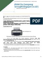 Cara Mengatasi Printer r230 Lampu Tinta Dan Resume Berkedip Merah _ Ototdidak Itu Gampang