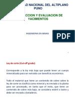 Prospeccion y Evaluacion de Yacimientos