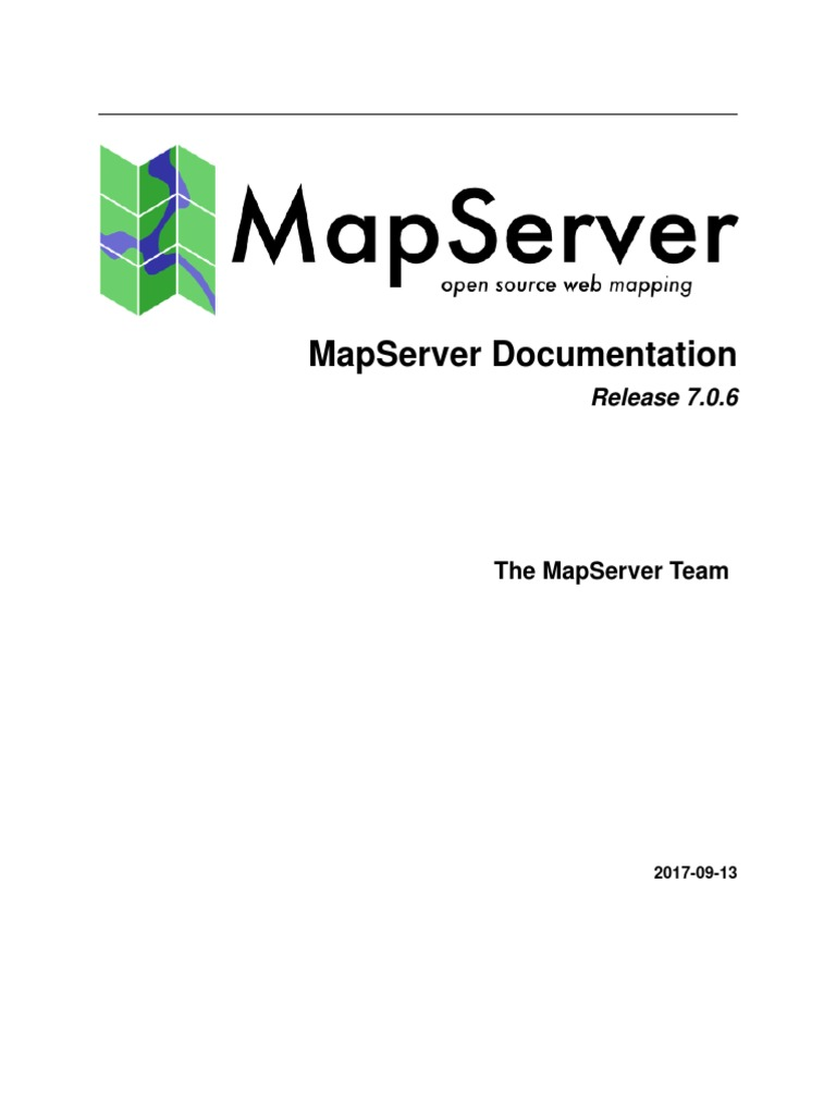 Map Server | Software | Software Engineering