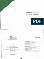 Fundamentos de Políticas Públicas .