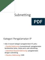 pertemuan-8-subnetting