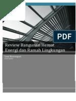 Review Bangunan Hemat Energi Dan Ramah Lingkungan