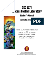Process Control Laboratory-Student%27s Manual