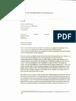 Brief Stad Gent aan minister Ben Weyts over mobiliteit zuid Gent