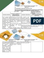 Guía y Rúbrica de Evaluación - Tarea 5 Propuesta de Solución