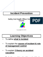 Incident Prevention