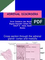 Kuliah Adrenal Disorders