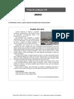 Ficha de Avaliacao Português 5