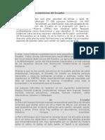 La diversidad de ecosistemas del Ecuador.docx