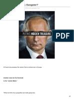 Putin - Billionaire Gangster