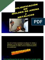 3.Solidificación en Moldes de Arena-clase 3
