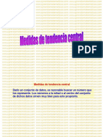 4 Medidas Tendencia Central