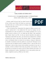 Extrait Mot c3a0 Monde 2017