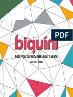 Livro Biquini - Duas Peças Que Mudaram a Rua e o Mundo (1)