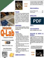 Curso Qlab Badajoz