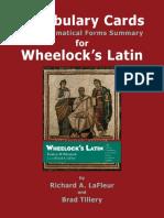 Wheelock Cards