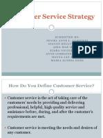 Customer Service Strategy EDITED