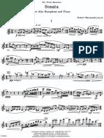 Muczynski - Sonata