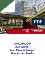 Apresentação Capacitação Lean Manufacturing Espanhol Com Filmes Rev 02