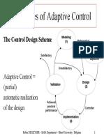 4-Principles Adaptive Control