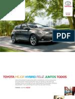 Catalogo Toyota Auris Abril 20