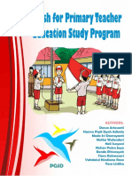 English book for primary teachers education study program