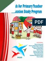 English book for primary teachers education study program