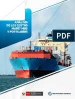 Costos Portuarios Maritimos Peru