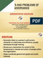 Final Report on Dicipline Dr Abundo 012016