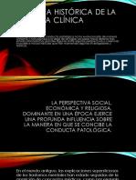 Perspectiva Histórica de La Psicología Clínica