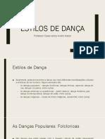 Danças Populares