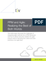 Whitepaper PPM and Agile Realizing Best of Both Worlds